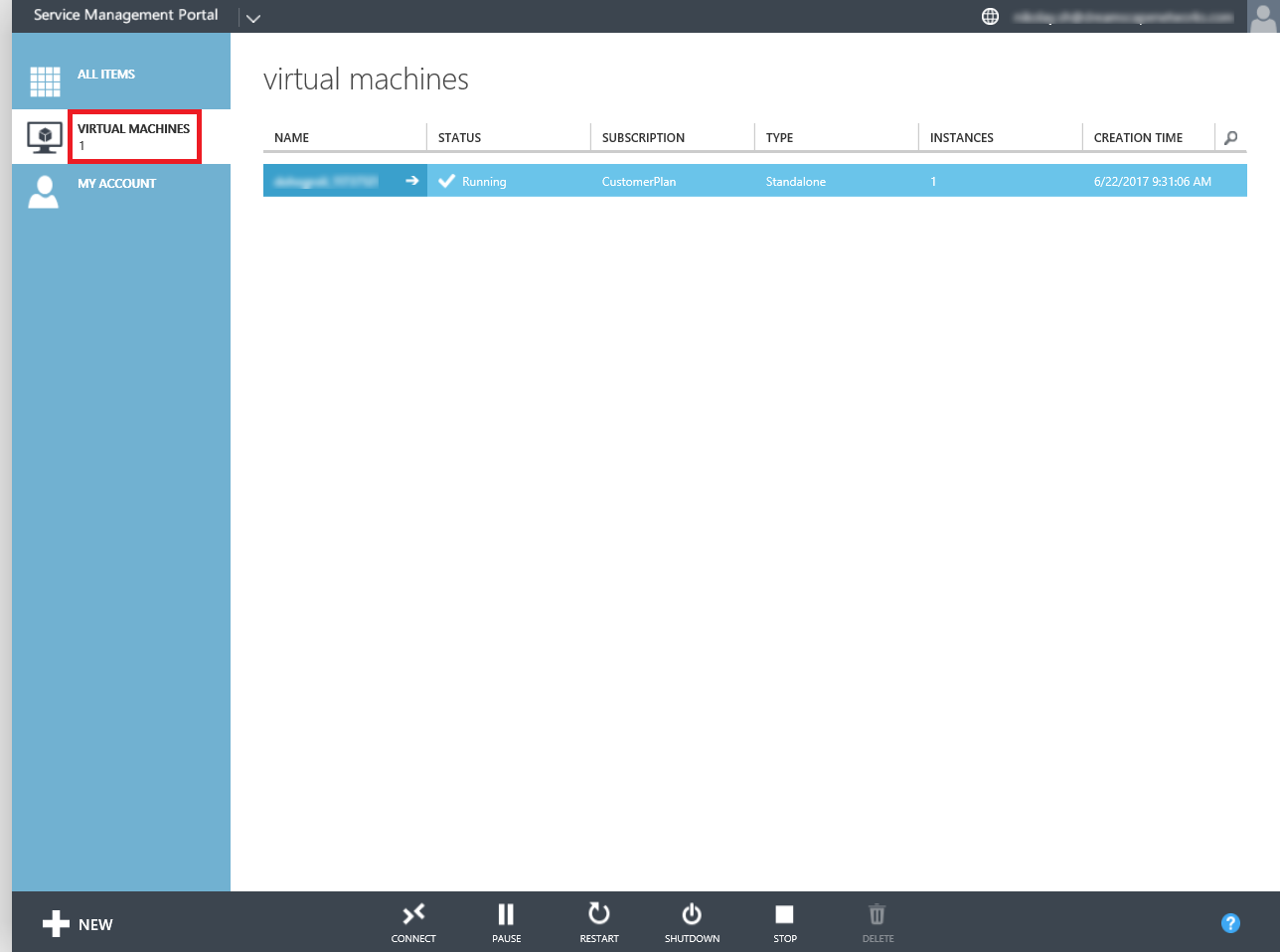 how to access windows server step 2